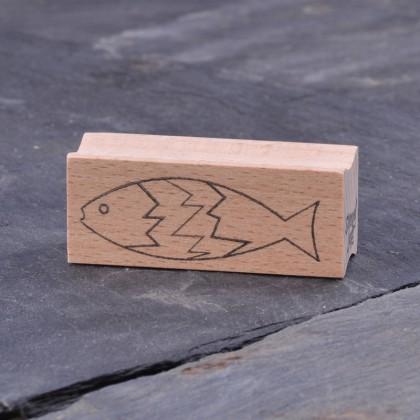 Fisch Zacke Kontur