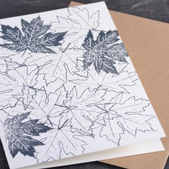 Karte-Ahornblaetter