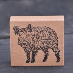 Stempel-Wildschwein