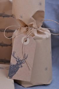 Geschenkpapier-Schneeflocke