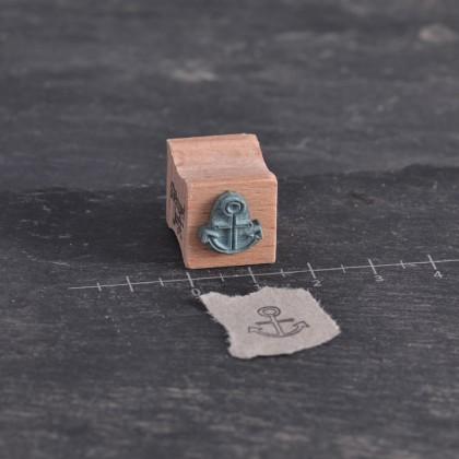 Stempelgummi-Anker-Kontur-Mini