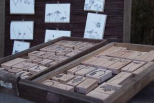 Stempel und Karten
