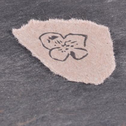 Stempelabdruck-Kirschbluete