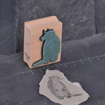 Stempelgummi-Murmeltier