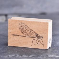 Stempel-Libelle-seitlich